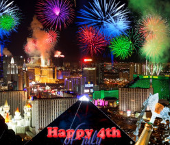 Happy 4th of July in Las Vegas
